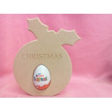 18mm MDF Christmas Pudding Egg Holder
